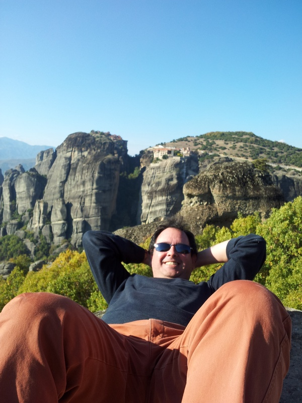 Selfie en Meteora