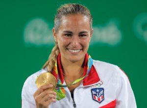 Mónica Puig, medallista de oro