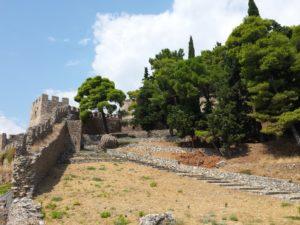 Castillo Veneciano de Nafpaktos, vista desde la base