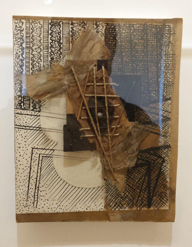 """""""Guitarra"""", Picasso. Musée Picasso, París."""