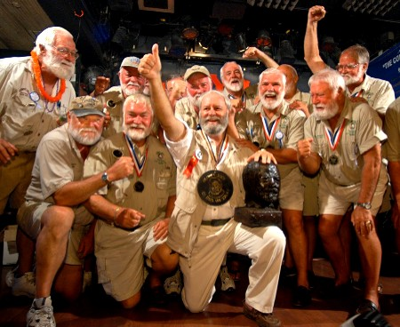 Participantes en el concurso de dobles de Hemingway